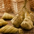Ketupat or packed rice - Stock Photo
