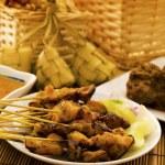 亚洲马来斋月期间食品 — 图库照片