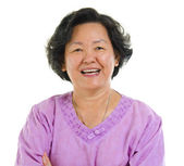 Asian senior woman — 图库照片