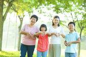 I love my family — Stock Photo