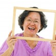 Fun senior woman — Stock Photo #12487139