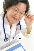 Docteur asiatique — Photo