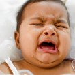 Crying Indian baby girl — Stock Photo #12655725