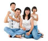Loving family — Stock Photo