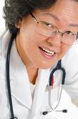 Medico asiatico — Foto Stock