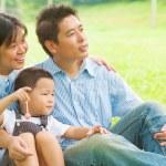 gelukkige familie — Stockfoto