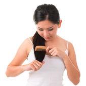 Comb hair — Stock Photo