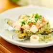 Seafood Risotto - Stock Photo