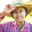 Young Burmese farmer — Stock Photo