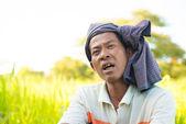 Myanmar man — Stock Photo