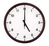 Classic analog clock — Stock Photo