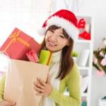 Christmas gift shopping — Stock Photo #15492455