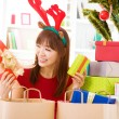 Christmas presents - Stockfoto