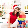 Christmas preparation - Stockfoto