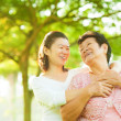 Senior mother and daughter — Stock Photo