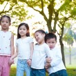 Stock Photo: Outdoor fun children