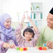 Asian child achievement — Stock Photo