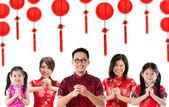 Groupe de voeux chinoise — Photo