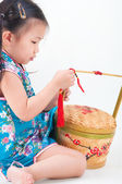Chinese new year preparation — Stock Photo