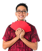 Happy Southeast Asian Chinese male — Stock Photo