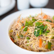 Delicious fried rice noodles - Stock Photo