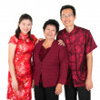 Royalty-Free Stock Photo: Happy Asian Chinese family