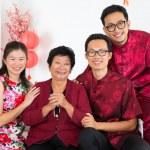Asian family reunion. — Stock Photo #18374919