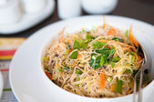 Delicious fried rice noodles — Foto Stock