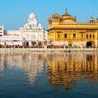 Daytime view of Golden Temple — Stock Photo #18713149