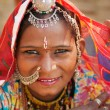 Beautiful Traditional Indian woman — Stock fotografie