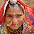 Beautiful Traditional Indian woman — Stock Photo #18713197