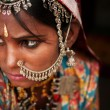 Stock Photo: Portrait of Traditional Indiwoman