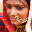jeune femme indienne traditionnelle — Photo