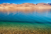 Lake Tsomoriri — Stock Photo