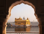 Amritsar Golden Temple - India. — Stock Photo