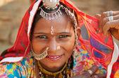 Beautiful Traditional Indian woman — Stock Photo