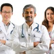 Foto Stock: Multiracial doctors