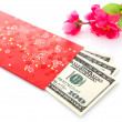 Chinese new year red packet - Stock Photo