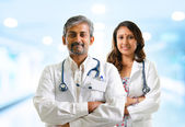 Indian doctors — Stock Photo