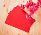 Año nuevo chino y ang pow — Foto de Stock