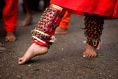 Hindu devotee — Stock Photo