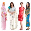 Southeast Asian group. — Stock Photo