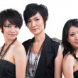 Asian pop girls — Stock Photo