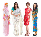 Grupa azji południowo-wschodniej. — Zdjęcie stockowe