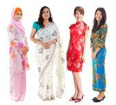 Grupo sudeste asiático. — Foto Stock