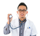 Southeast Asian medical doctor — Stock Photo