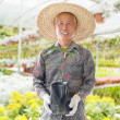 Asian Chinese farmer — Stock Photo