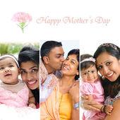 Figlio e madre indiana. — Foto Stock