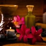 Balinese Spa setting. — Stock Photo