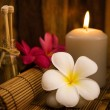 Low light spa setting indoor — Stock Photo #22315111